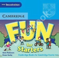 Fun for Starters (Second Edition) Audio CD   Аудио диск