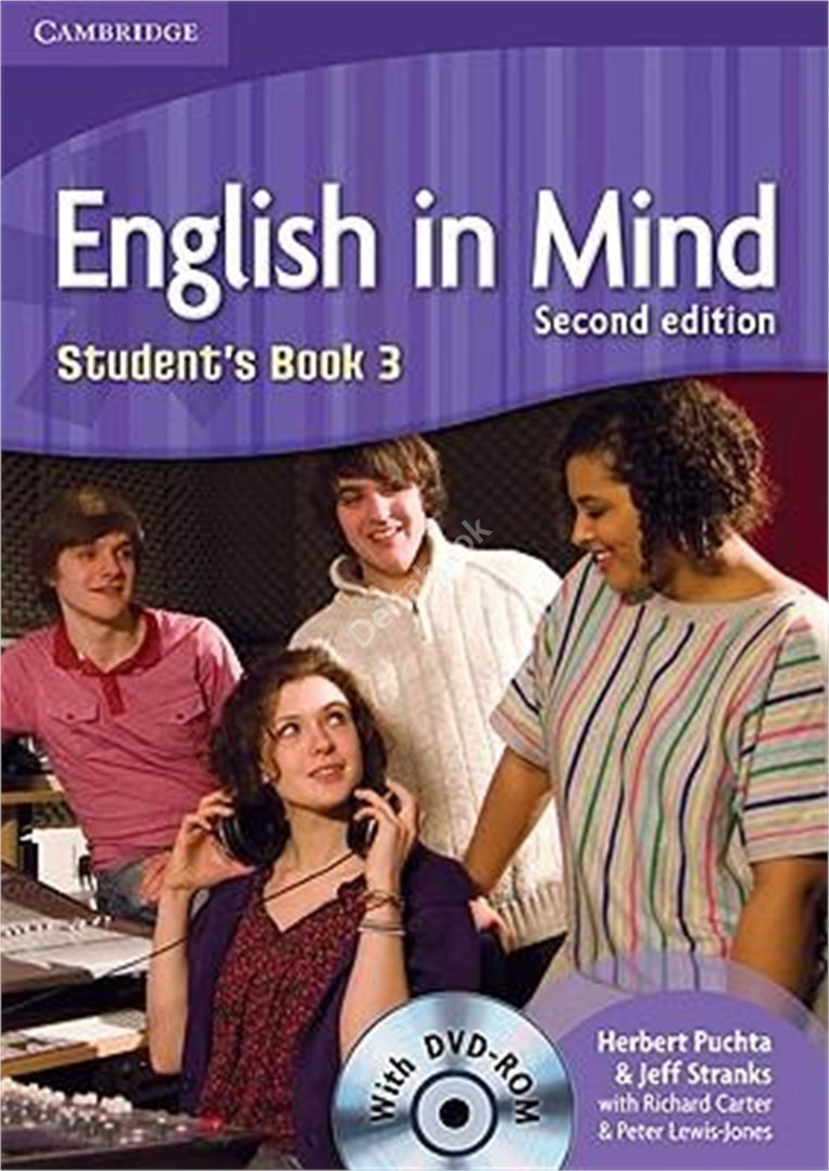 English in Mind (Second Edition) 3 Student's Book + DVD-Rom  Учебник