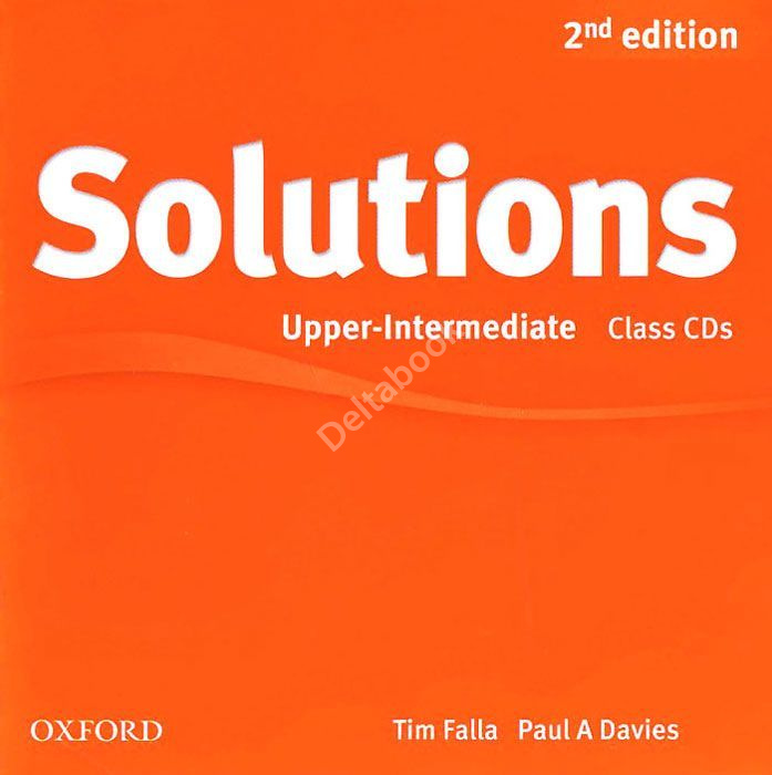 Solutions (Second Edition) Upper-Intermediate Class CDs  Аудиодиски