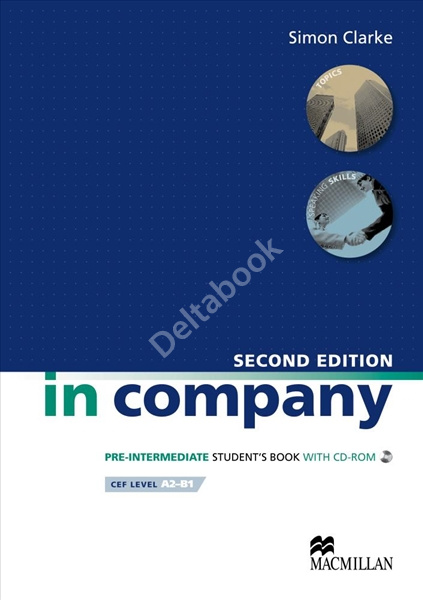 In Company Pre-Intermediate (Second Edition) Student's Book + CD-ROM  Учебник