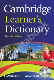 Cambridge Learner's Dictionary + CD-ROM (4th edition)