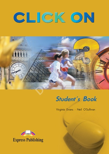 Click On 3 Student's Book  Учебник