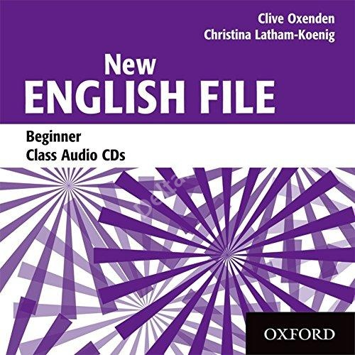 New English File Beginner Class Audio CD   Аудио диск