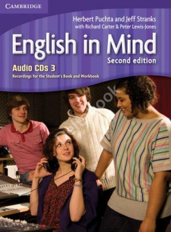 English in Mind (Second Edition) 3 Audio CDs  Аудиодиски