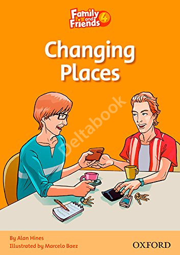 Family and Friends 4 Reader Changing Places  Книга для чтения