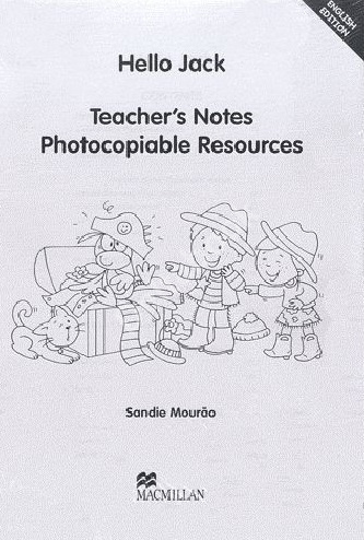 Hello Jack Teacher's Notes  Книга для учителя