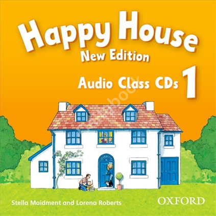Happy House NEW 1 Class CD   Аудио диск