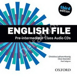 Third Edition English File Pre-Intermediate Class Audio CD   Аудио диск