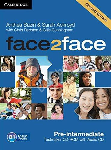 Face2Face (Second Edition) Pre-Intermediate Testmaker CD-Rom + DVD  Диск с тестами + DVD