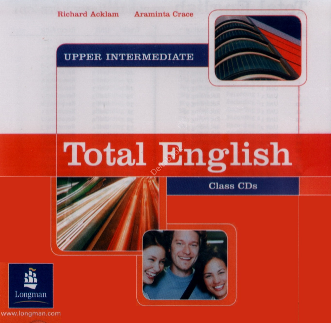 Total English Upper-Intermediate Class Audio CD (2)   Аудио диски
