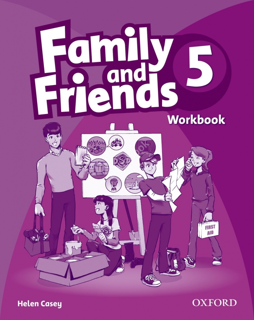 Family and Friends 5 Workbook  Рабочая тетрадь