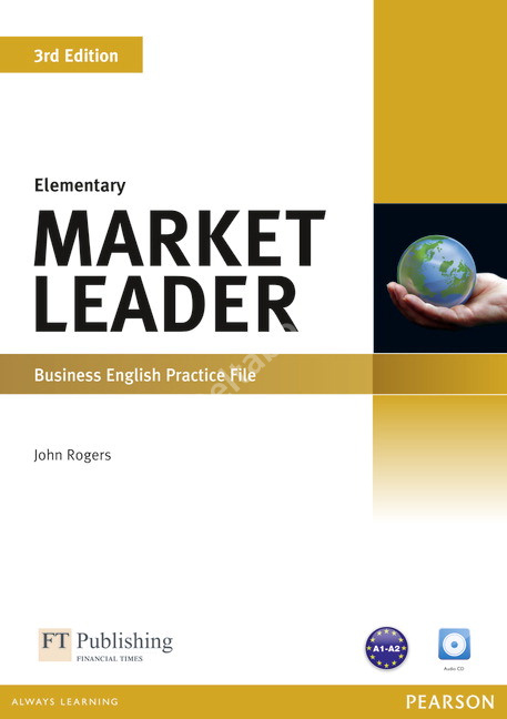 Market Leader (3rd Edition) Elementary Practice File + Audio CD  Рабочая тетрадь