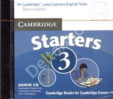 Cambridge Young Learners English Tests Starters 3 Audio CD   Аудио СD к учебнику