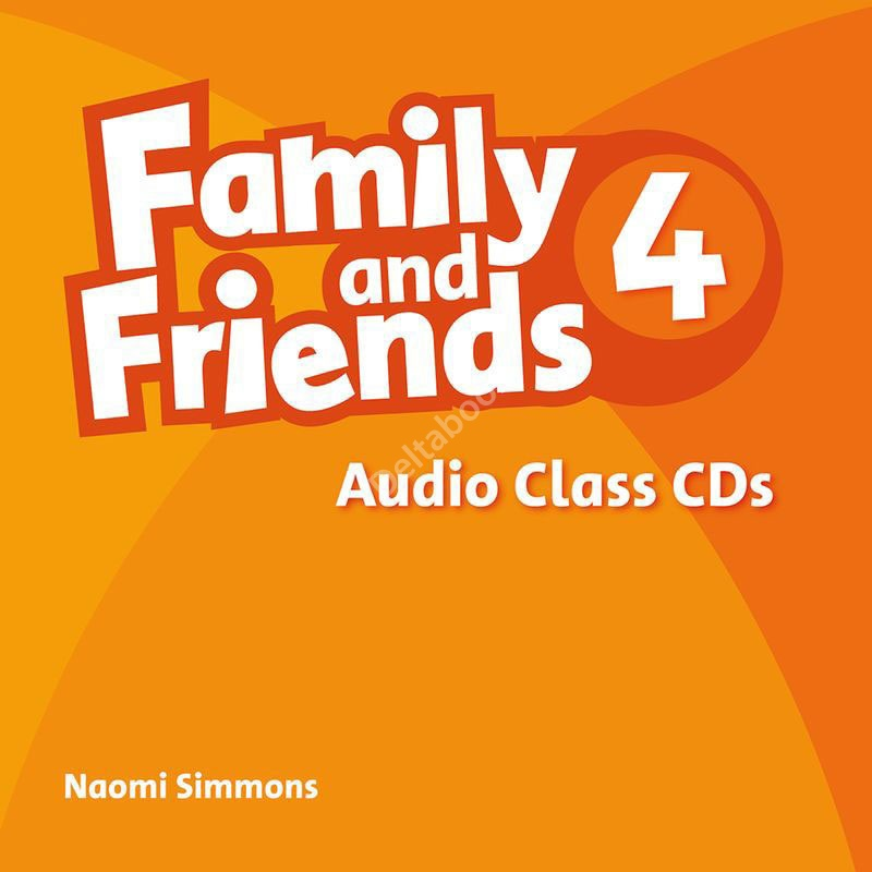 Family and Friends 4 Audio Class CDs  Аудиодиски