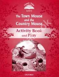 The Town Mouse and The Country Mouse Activity Book and Play