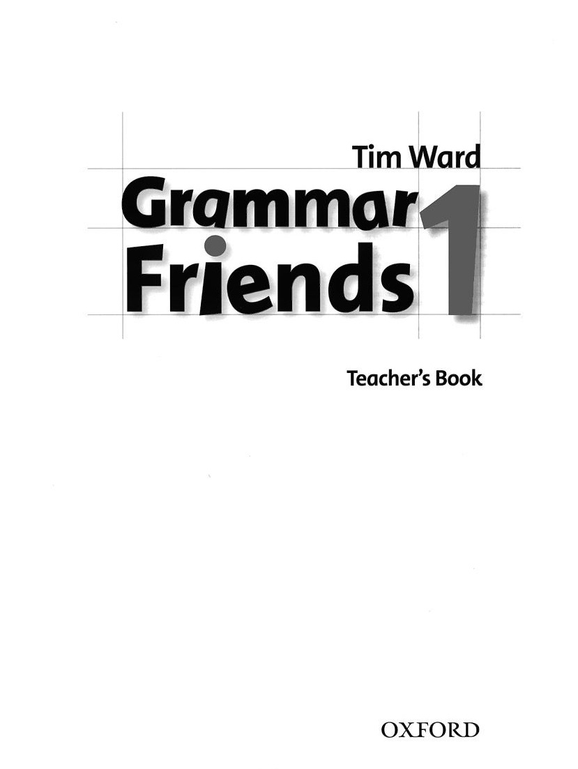 Family and Friends 1 Grammar Teacher's Book  Ответы к грамматике