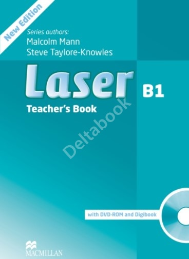 Laser (Third Edition) B1 Teacher's Book + DVD-ROM    Книга для учителя