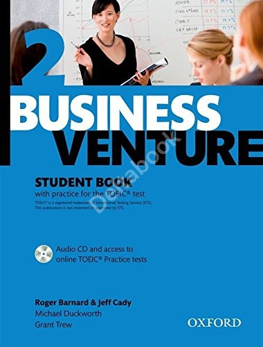 Business Venture 2 (Third Edition) Student's Book + Audio CD + Online TOEIC Tests   Учебник