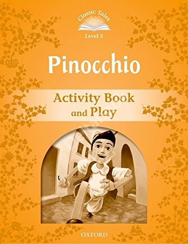 Pinocchio Activity Book and Play