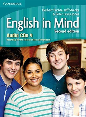 English in Mind (Second Edition) 4 Audio CDs  Аудиодиски