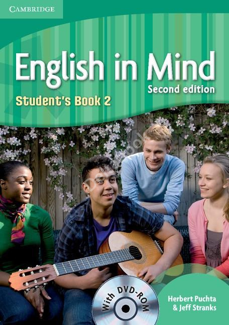 English in Mind (Second Edition) 2 Student's Book + DVD-Rom  Учебник