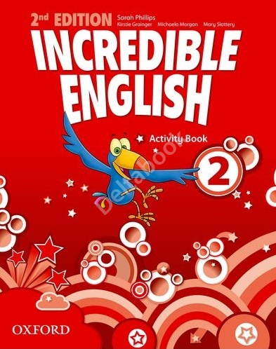 Incredible English (Second Edition) 2 Activity Book  Рабочая тетрадь