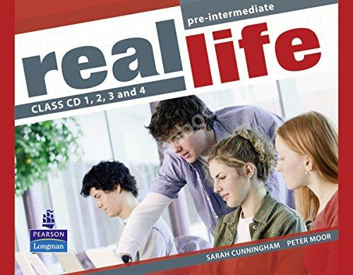 Real Life Pre-Intermediate Class CDs  Аудиодиски