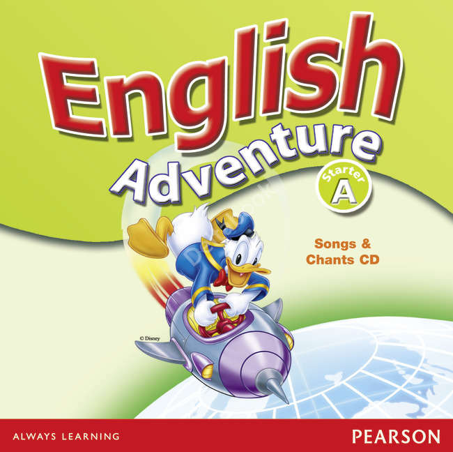 English Adventure Starter A Songs and Chants CD  Диск к песням и играм