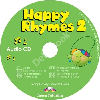 Happy Rhymes 2 Audio CD  Аудиодиск