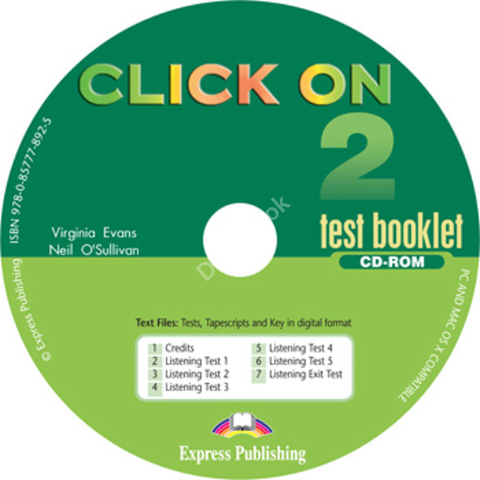Click On 2 Test CD-ROM  Диск с тестами