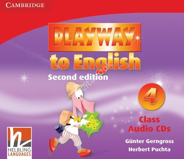 Playway to English (Second Edition) Level 4 Class CDs   Аудио диск