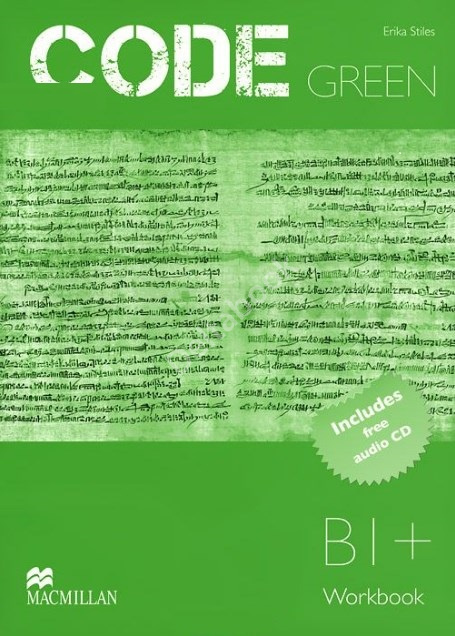 Code Green (B1+) Workbook + Audio CD  Рабочая тетрадь