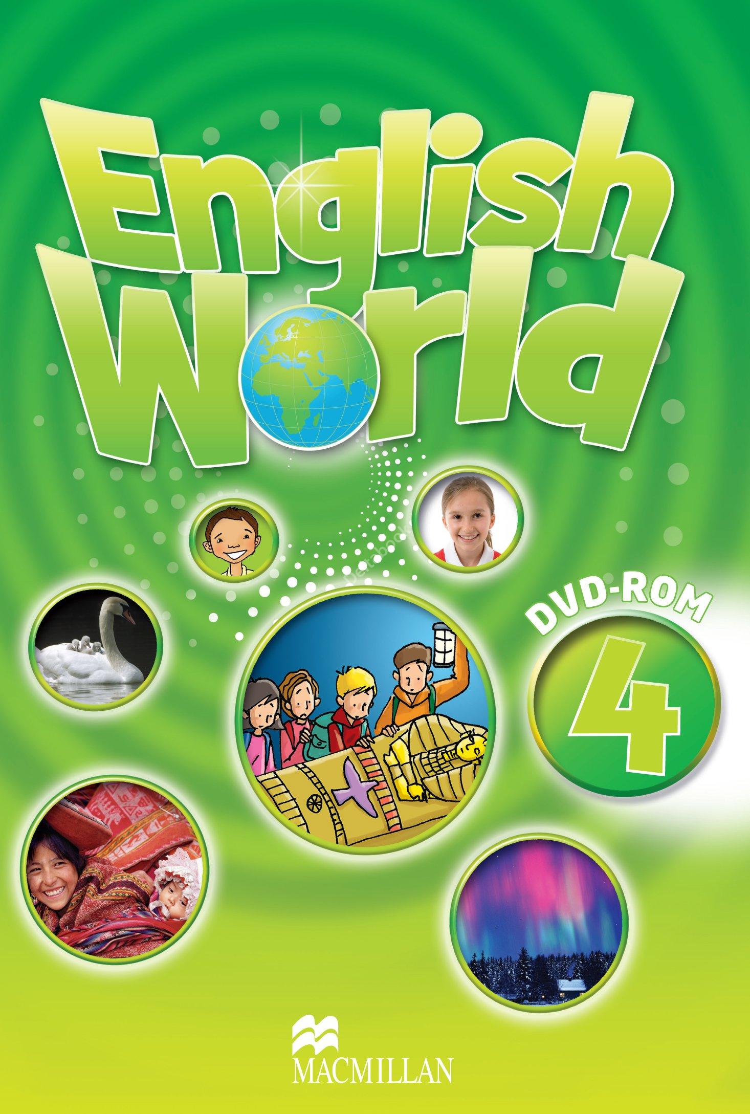 English World 4 DVD-ROM  Диск для компьютера