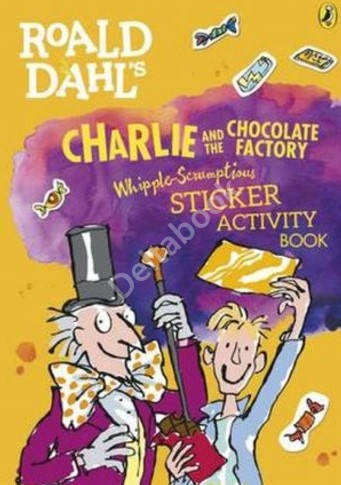 Charlie and the Chocolate Factory Sticker Activity Book