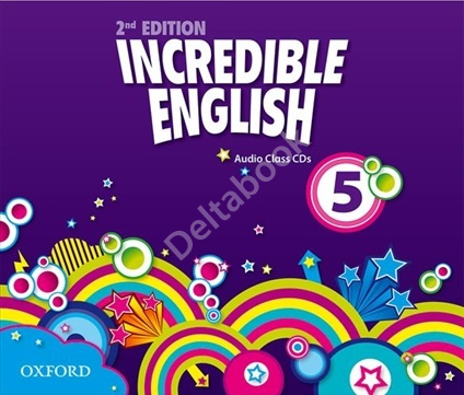 Incredible English (Second Edition) 5 Audio Class CDs  Аудиодиски