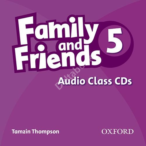 Family and Friends 5 Audio Class CDs  Аудиодиски