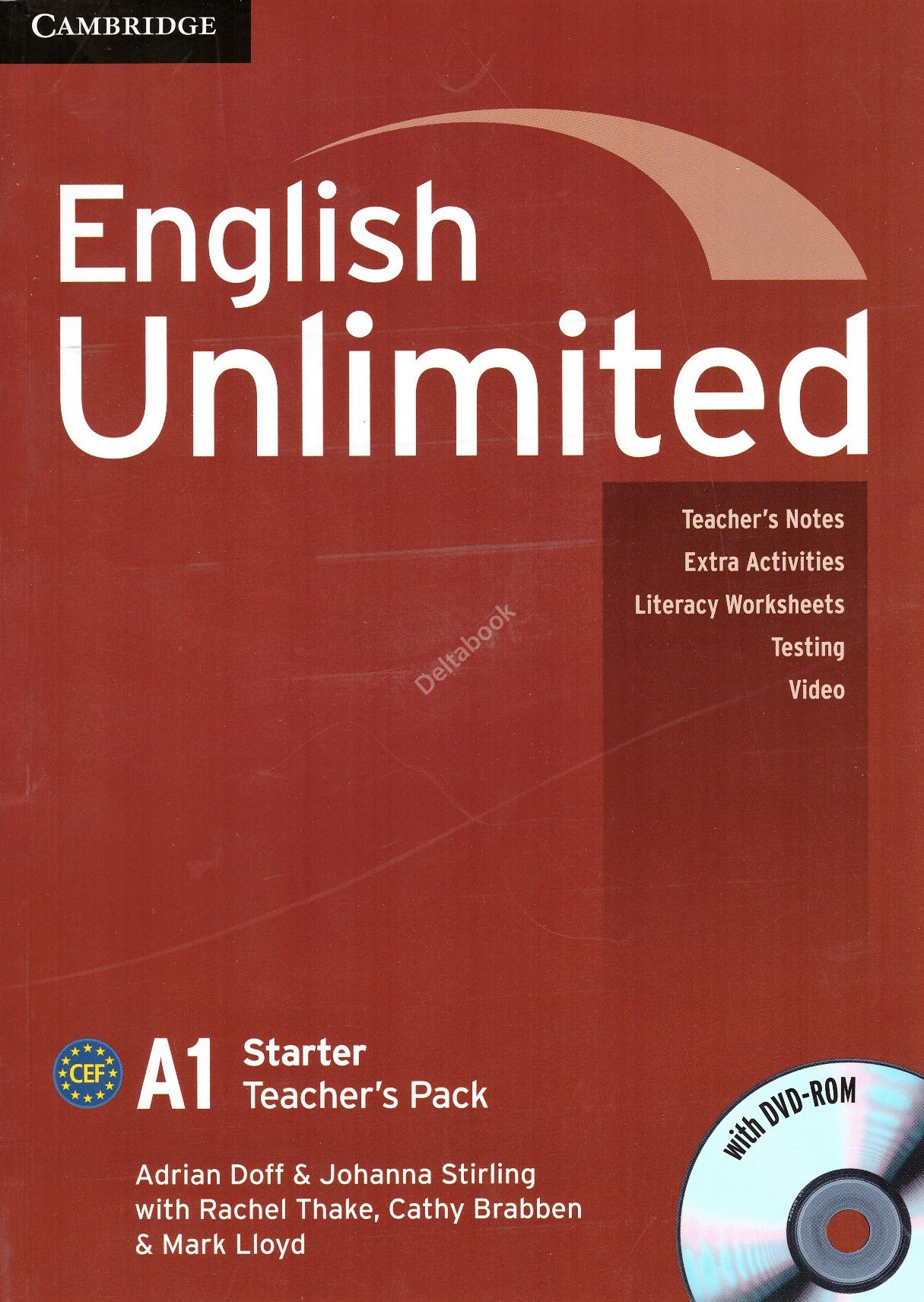 English Unlimited Starter A1 Teacher's Pack + DVD-ROM  Книга учителя