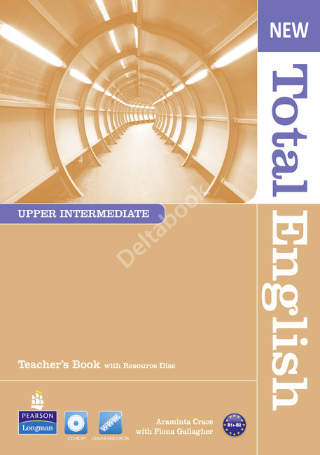 New Total English Upper-Intermediate Teacher's Book + Resource Disc  Книга для учителя