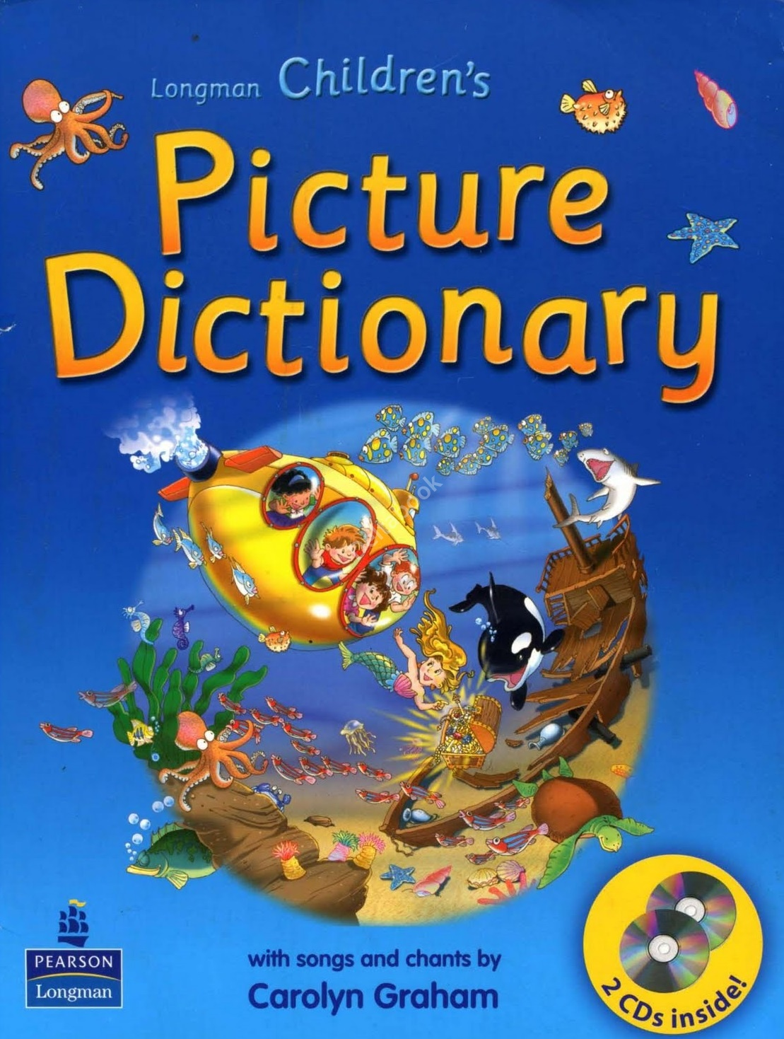 Longman Children's Picture Dictionary + Audio CDs (2)