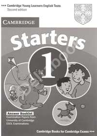 Cambridge Young Learners English Tests Starters 1 Answer Booklet   Ответы к учебнику