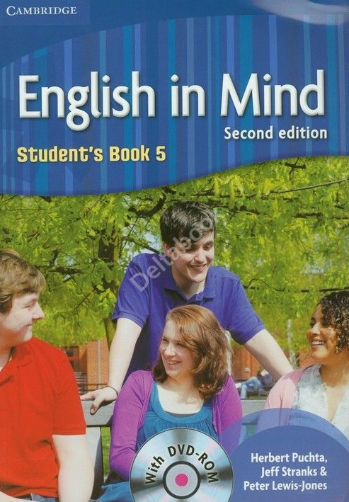 English in Mind (Second Edition) 5 Student's Book DVD-Rom  Учебник