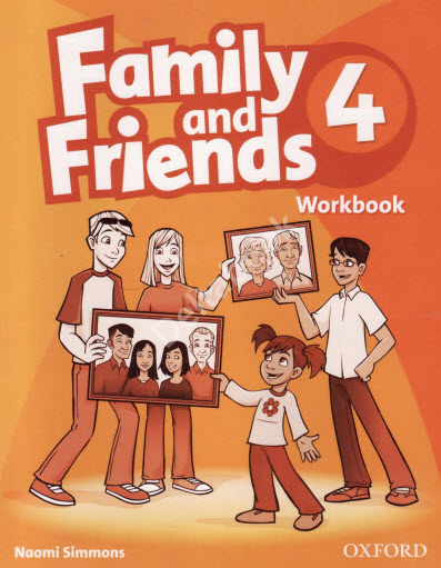 Family and Friends 4 Workbook  Рабочая тетрадь