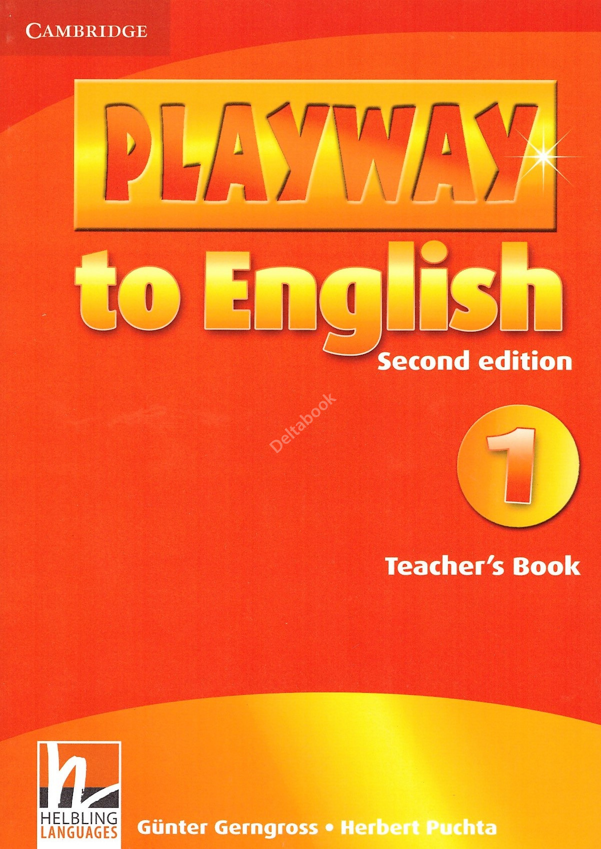 Playway to English 1 Teacher's Book  Книга для учителя