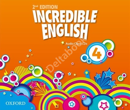 Incredible English (Second Edition) 4 Audio Class CDs  Аудиодиски