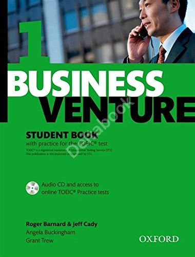 Business Venture 1 (Third Edition) Student's Book + Audio CD + Online TOEIC Tests   Учебник