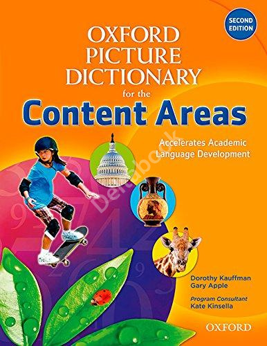 Oxford Picture Dictionary (Second Edition) Content Areas