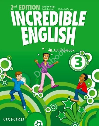 Incredible English (Second Edition) 3 Activity Book  Рабочая тетрадь