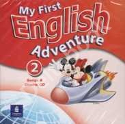 My First English Adventure 2 Song Audio CD   Аудио диск с песнями
