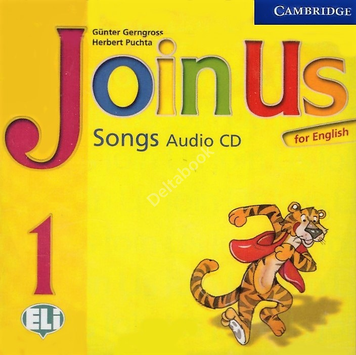 Join Us for English 1 Songs Audio CD  Аудио диск с песнями