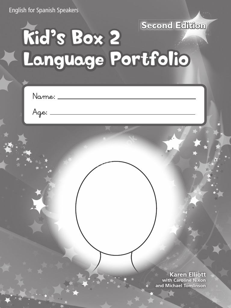 Kid's Box (Second Edition) Level 2 Language Portfolio  Языковой портфель